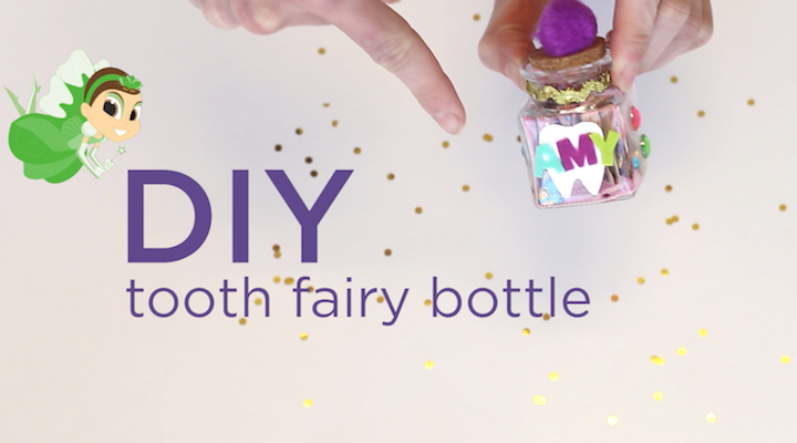 Celebrate everyone's favorite tooth-collector with this DIY Tooth Fairy Bottle: Once you finish your magical tooth holder, explore our other Tooth Fairy activities: Tooth Fairy Games and Coloring Pages First Loose Tooth Care Guide And A Tooth Fairy Lesson in Saving Money! Comments comments