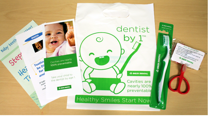 Delta Dental of South Dakota (DDSD) wants to make sure those new smiles stay healthy through New Smile Kits, a statewide project that provides a free infant toothbrush, adult toothbrush and infant oral health information to moms of newborns before they leave the hospital.