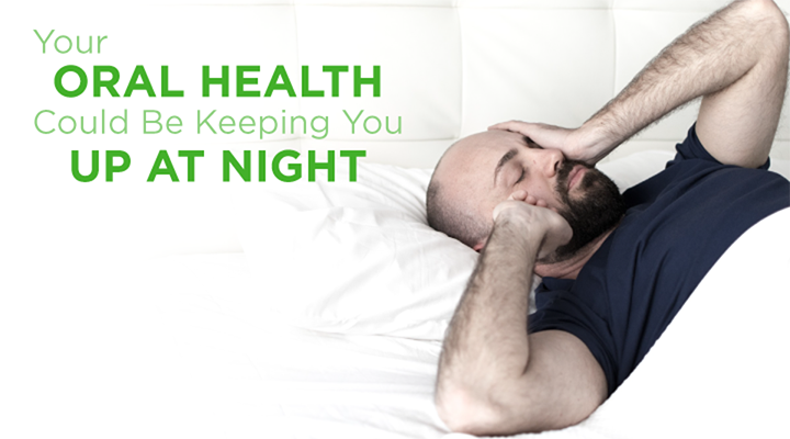 Our oral health and sleep habits are connected. They can indicate conditions like sleep apnea or habitual nighttime teeth grinding are impacting our rest.